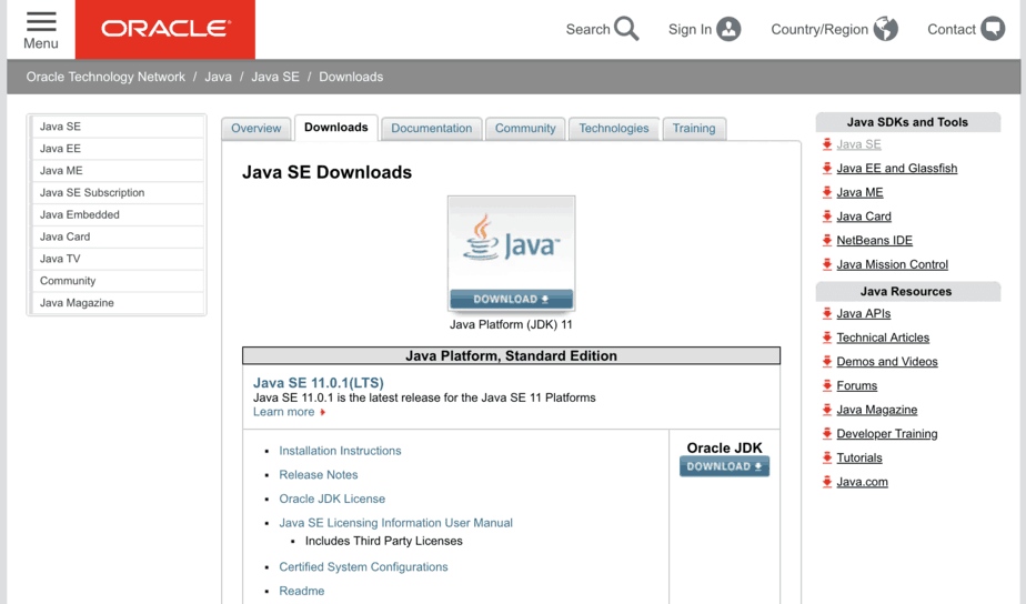 Download and Install Java 11 on Windows Mac and Linux