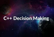 C++ Decision Making