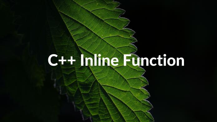 C++ Inline Function