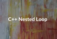 C++ Nested Loop