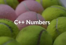 C++ Numbers