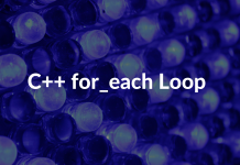 C++ for_each Loop