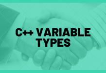 C++ Variable Types