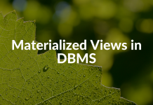 Materialized Views in DBMS
