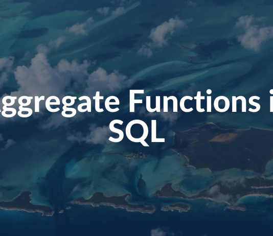 Aggregate Functions in SQL