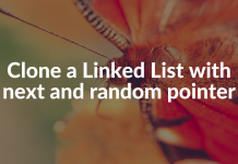 Clone a Linked List with next and random pointer