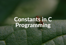 Constants in C Programming