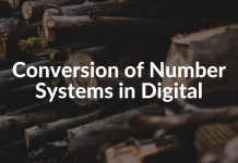 Conversion of Number Systems in Digital
