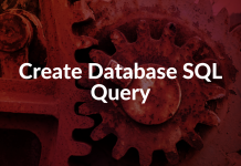 Create Database SQL Query