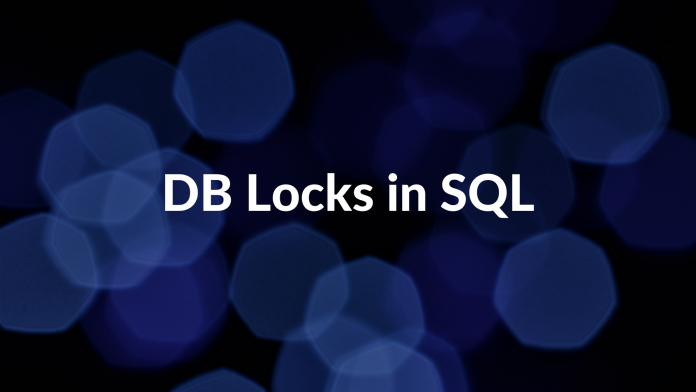 DB Locks in SQL