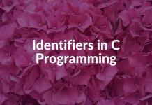 Identifiers in C Programming