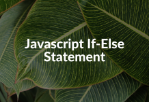 Javascript If-Else Statement