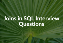 Joins in SQL Interview Questions