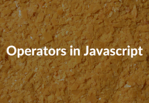 Operators in Javascript