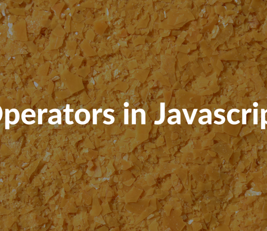 Operators in Javascript
