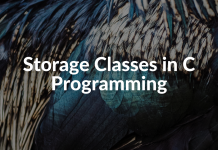 Storage Classes in C Programming