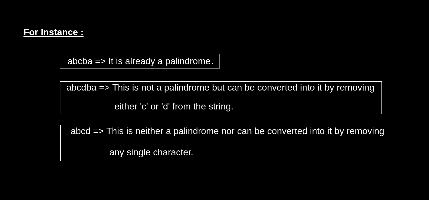 Valid Palindrome