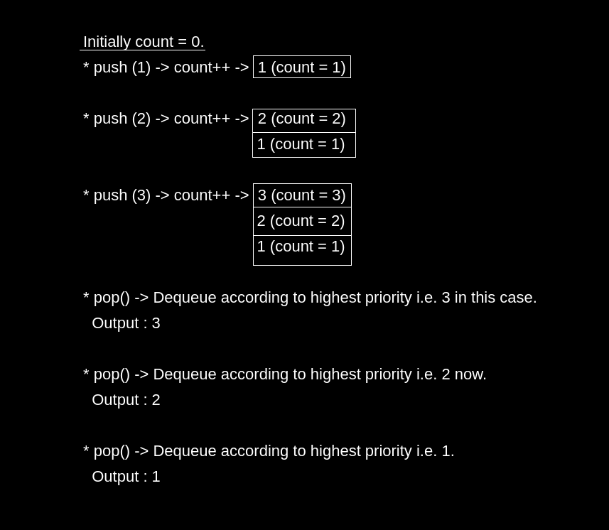 How to Implement Stack Using Priority Queue or Heap?