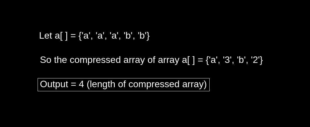 String Compression