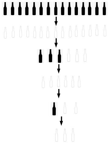 पाण्याचे बाटल्या लीटकोड सोल्यूशन