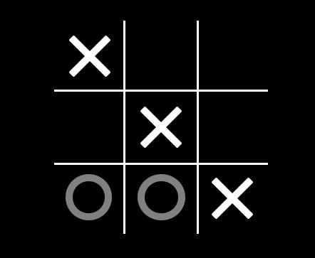 एक टिक टीएसी को पैर की अंगुली खेल Leetcode समाधान पर विजेता का पता लगाएं