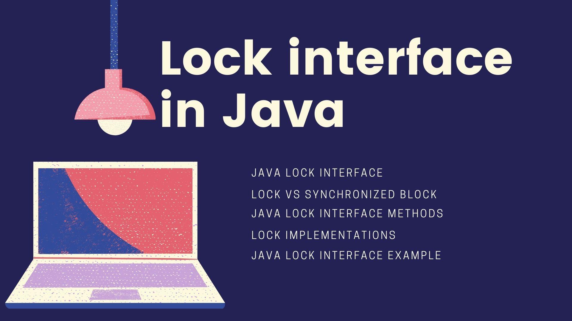 Lock interface in Java